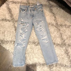 Size 25 wedgie straight LEVIS